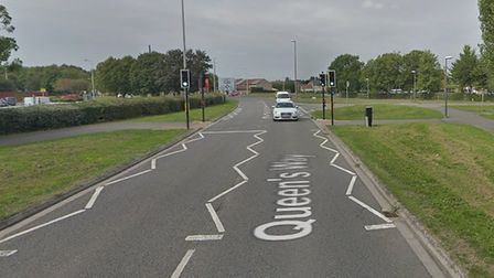 The incident occured in Queensway. Picture: Google