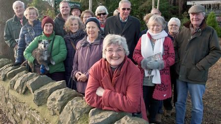 Members of Congresbury Residents' Action Group. Picture: Mark Atherton