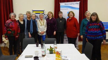 The Weston Soroptimists raised the funds over International Women's Day weekend.