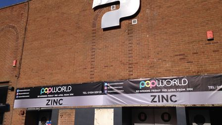 Popworld & Zinc will open on April 3. Picture: Henry Woodsford