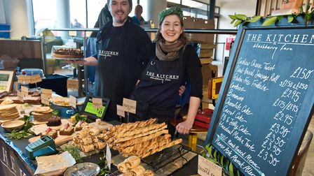 Somerset Pantry at the Sovereign Centre. The Kitchen at Blackberry Farm. Picture: MARK ATHERTON