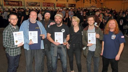 Revellers at last year's CAMRA festival. Picture: CAMRA