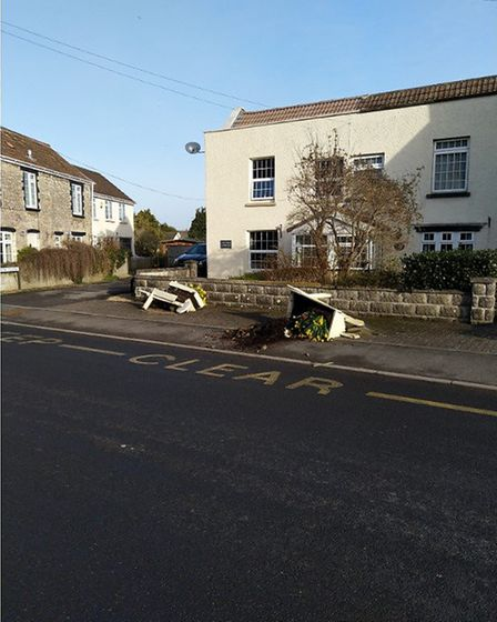 Vandals have targetted the flower displays in Hutton