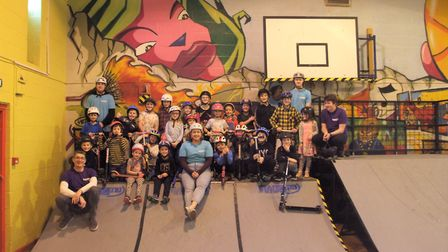 Transend Skatepark enjoyed its first half-term at YMCA. Picture: Henry Woodsford