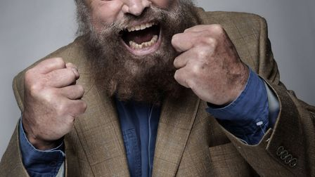 Brian Blessed. Picture: Norwich Theatre Royal