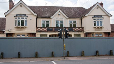 The Lord Nelson has been boarded up since 2016. Picture: Mark Atherton