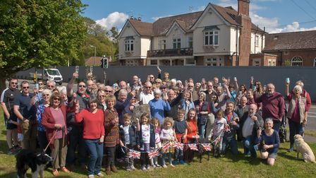 Campaigners celebrated planning permission being refused for Lord Nelson at Cleeve to be turned into