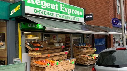 Regent Express, in Regent Street, has had its premises licence revoked in Weston.Picture: Lily Newto