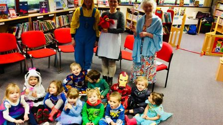Pupils from St Francis Preschool in Nailsea dressed up for World Book Day.