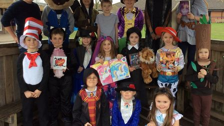 Pupils of Mary Elton Priamry School. Picture: Cheryl Brown