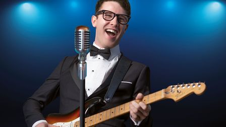 Buddy Holly and The Cricketers will perform at Weston's Playhouse. Picture: Parkwood Theatres
