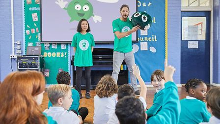 The NSPCC is looking for volunteers to run assemblies in schools.