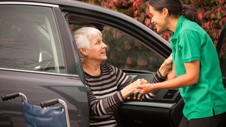 Home carers can help clients manage their daily tasks and routines. Picture: Right at Home