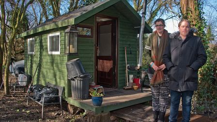 Jordan Lawton and Tania Harvey may be evicted from their home in a weeks time.Picture: MARK ATHERTON