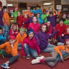 Youngsters from Stagecoach Performing Arts Portishead at Weston Playhouse.Picture: MARK ATHERTON