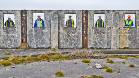 Views of the buildings on Birnbeck Pier. Picture: ELEANOR YOUNG