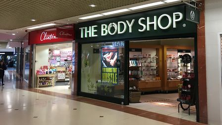 The Body Shop will close in the Sovereign Shopping Centre. Picture: Henry Woodsford