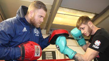 Boxer Dean Dodge gets ready for the biggest fight of his career when he takes on Sean Davis.