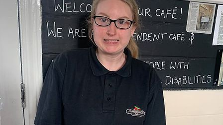 Lucy Colman from the Strawberry Line Cafe