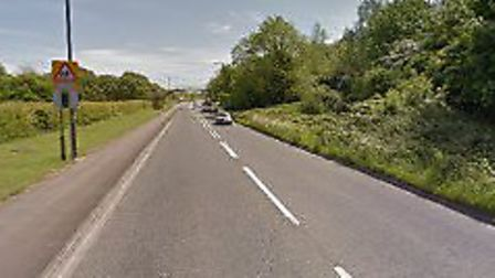 A section of the A371 at Locking will be temporarily closed for a weekend for work to be carried out