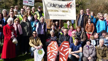 Campaigners from the Coffin Lane campaign.