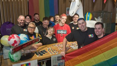 North Somerset LGBTQ+ Forum's community day at the Sovereign Centre. Picture: MARK ATHERTON