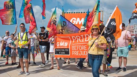 Weston Pride parade. Picture: MARK ATHERTON