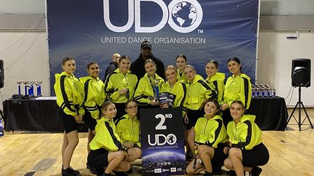 BellaTrix Dance Company at the regional streetdance competition in Swindon. Picture: Bella Febry