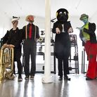 Biscuithead & The Biscuit Badgers headline the first night of the Unfold 2 weekender. Picture: Under