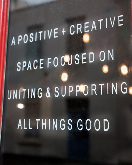 The Stable - A positive & creative space focused on uniting & supporting all things good. Picture: