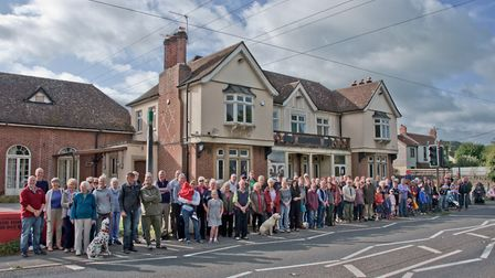 Villagers have campaigned against Touts proposals since 2016.Picture: Mark Atherton