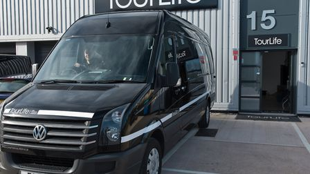 From T-shirts to tour vans, TourLife has got it covered. Picture: MARK ATHERTON
