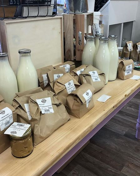 Fresh produce at Fill Good Pantry. Picture: Fill Good Pantry