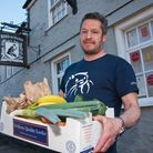 Bird In Hand pub owner Toby Gritten is offering free hot meals to the elderly and NHS workers in the