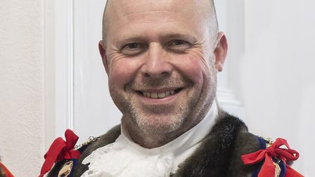 Mark Canniford will remain as mayor of Weston until 2021. Picture: Andrew Thompson
