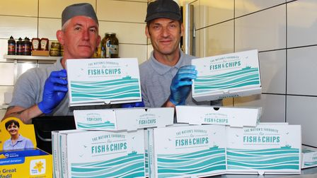 Appleby's Fish and Chip Bar has donated meals to elderly in Portishead.Picture: Tracey Fowler