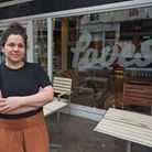 Anna Southwell from Loves who is offering takeaway roast dinners and selling vegetable boxes.