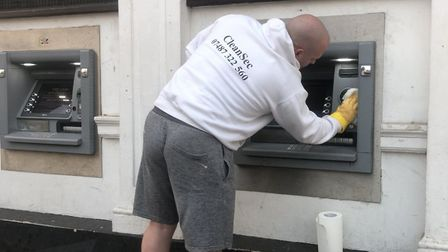 Neil Marsh has been cleaning ATM's and other facilities around Weston