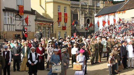 Final scenes of a previous Axbridge Pageant. Picture: Marc Le Galle Photography