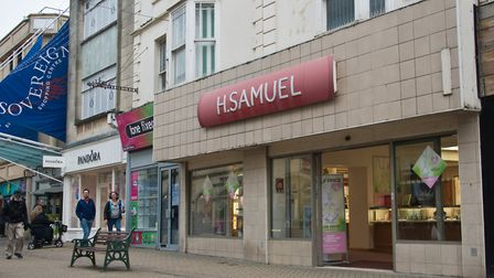H. Samuel in Weston's High Street. Picture: MARK ATHERTON