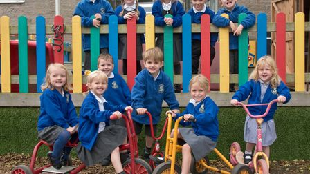 Shipham CofE First School. Picture: MARK ATHERTON