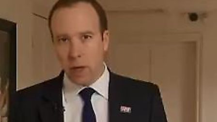 Health and Social Care secretary Matt Hancock today refused to rule out a no-deal scenario today, de