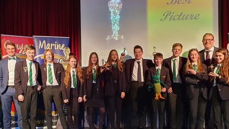 The students celebrated the 8th annual Clevedon Academy Awards