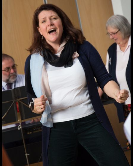Kate Dimbleby will be singing for lung health. Picture:Marie-Dominque Demers-King