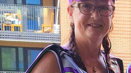 Tina Burrows will raise money for the NHS. Picture: Tina Burrows