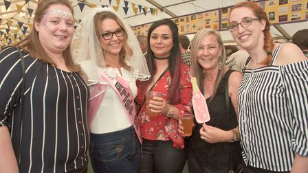 Weston Lions Club Real Ale and Cider Festival. Picture: MARK ATHERTON