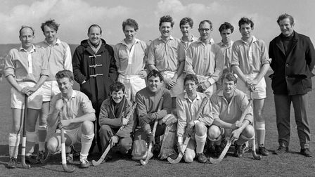 The Torpids hockey team who were runners up to this year's Easter Hockey Festival winners, Clodhoppe