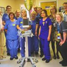 Community fundraising for Weston hospital raised money for an ECG machine