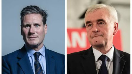 Keir Starmer and John McDonnell were coy today when talking about Labour's promise to back a second