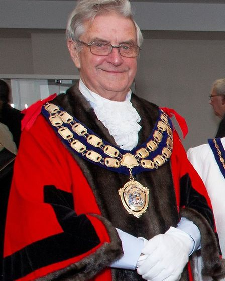 Cllr Mike Lyall was Weston's mayor from 2018-19. Picture: Weston Town Council